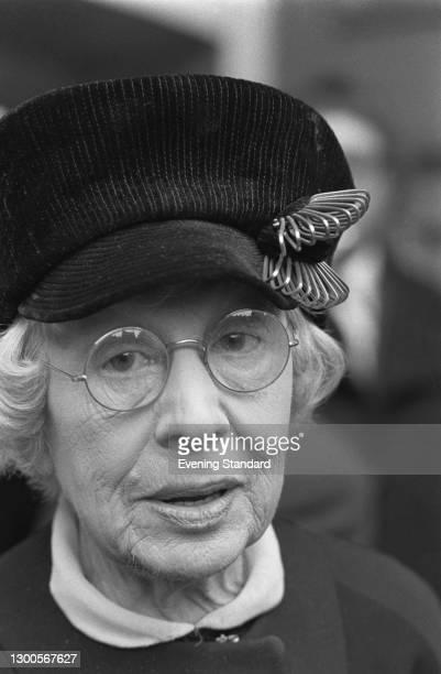 English actress Dame Edith Evans , UK, 17th April 1973.