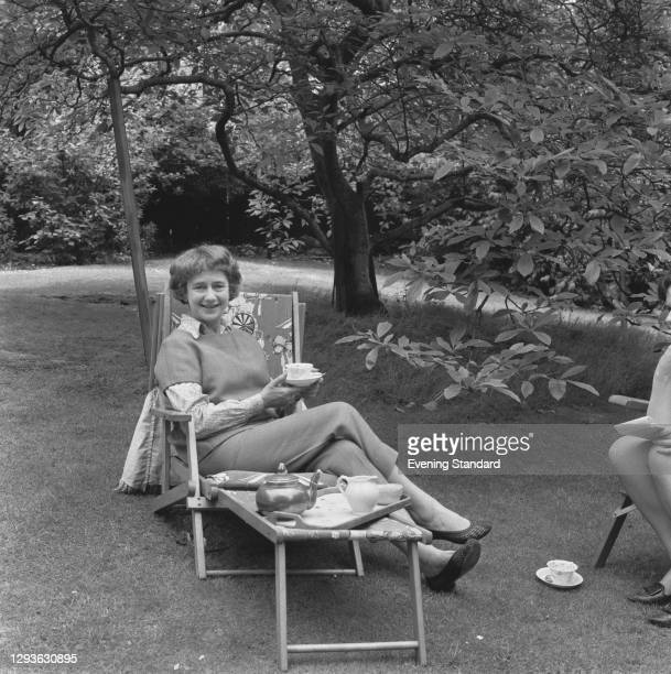 English actress Dame Peggy Ashcroft , UK, 14th June 1966.