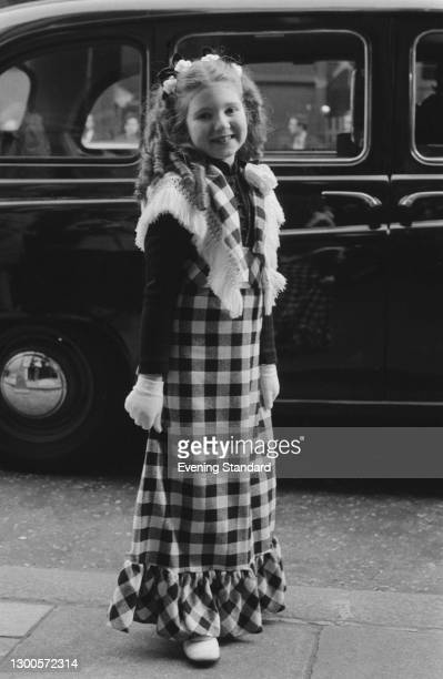 English actress, dancer and singer Bonnie Langford, UK, 15th May 1973.
