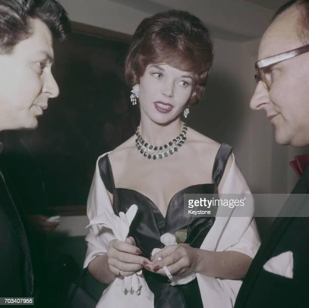 English actress Dawn Addams circa 1960