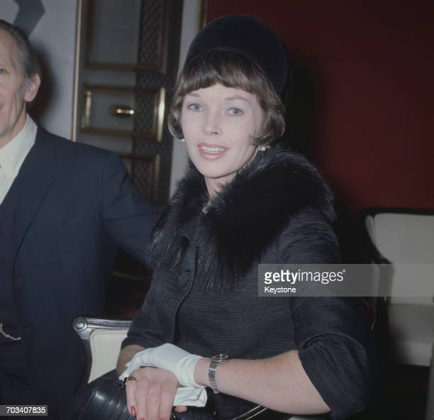 English actress Dawn Addams circa 1970