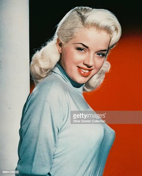 English actress Diana Dors , circa 1955.