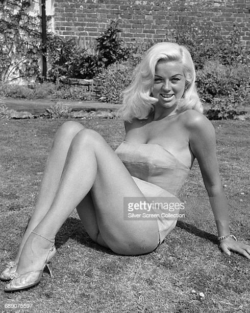 English actress Diana Dors , circa 1965.
