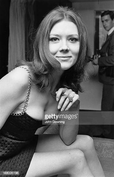 English actress Diana Rigg, 8th November 1967.