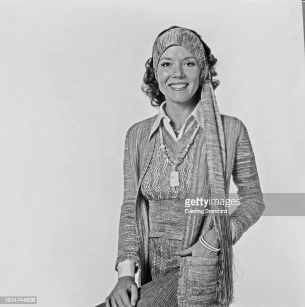 English actress Diana Rigg , UK, 1st July 1974.