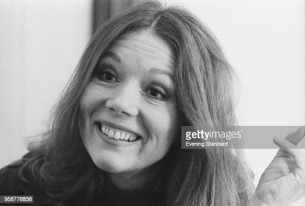 English actress Diana Rigg, UK, 3rd January 1978.