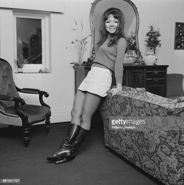 English actress Dilys Watling UK 23rd November 1969 She has been selected to star in the musical 'Georgy' on Broadway