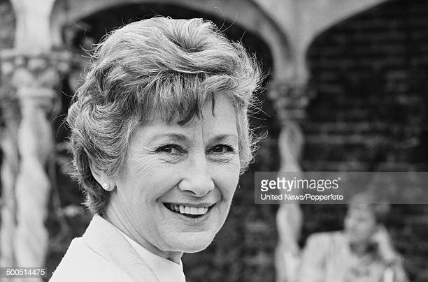 English actress Dinah Sheridan in London on 20th August 1985
