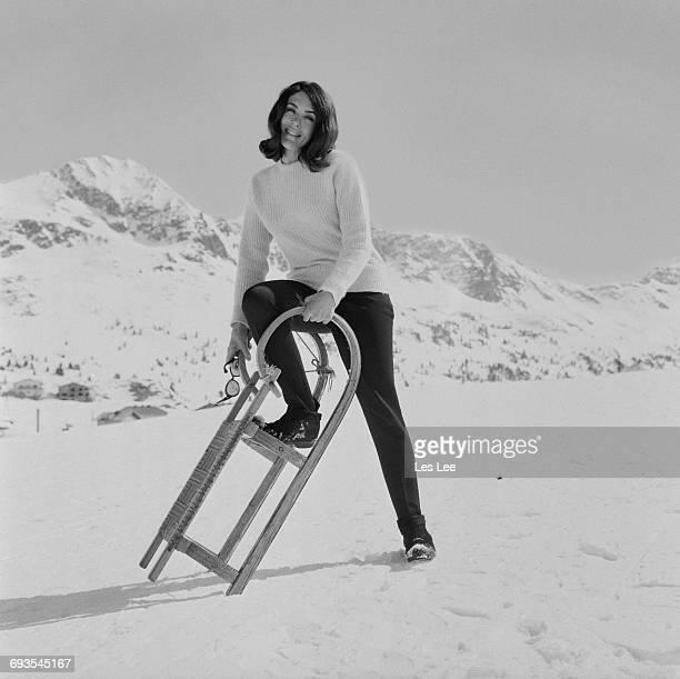 English actress Eleanor Bron in Austria 17th March 1965