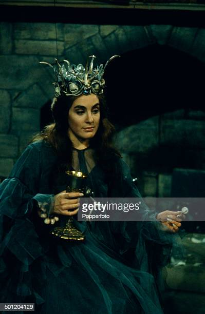 English actress Eleanor Bron pictured in a scene from the television adaptation of 'The Canterville Ghost' in 1966