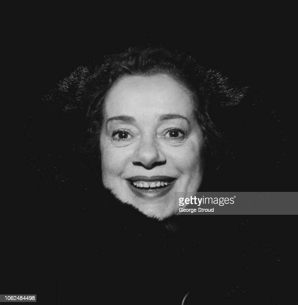 English actress Elsa Lanchester at Heathrow Airport London UK 1st February 1963