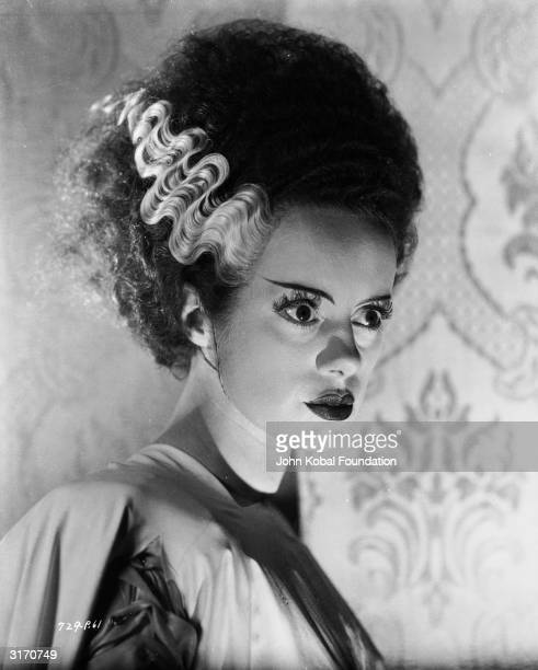 English actress Elsa Lanchester plays the woman created to be the monster's wife in 'Bride of Frankenstein' directed by James Whale
