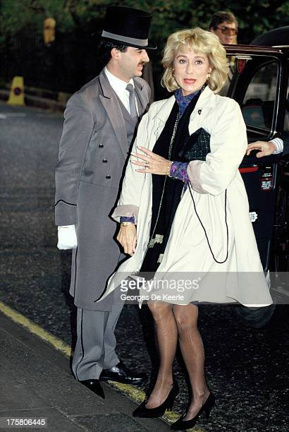 English actress Felicity Kendal in 1990 ca in London England
