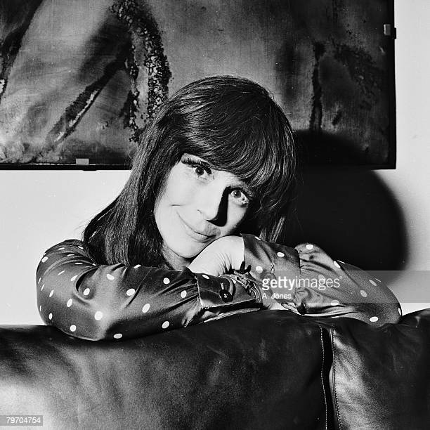 English actress Fenella Fielding 4th January 1967