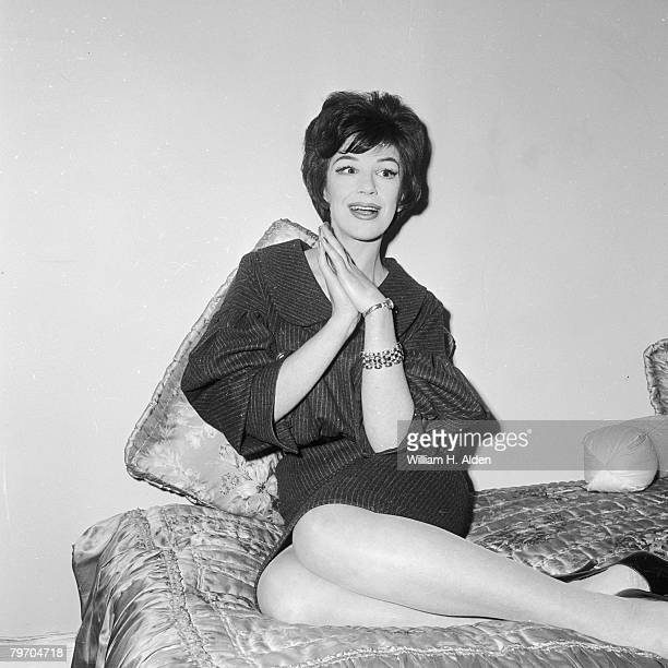 English actress Fenella Fielding November 1959