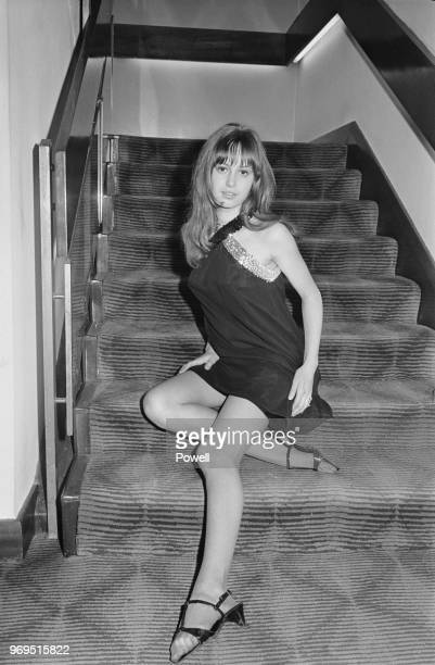 English actress, film producer and horse breeder Susan George, UK, 5th June 1967.
