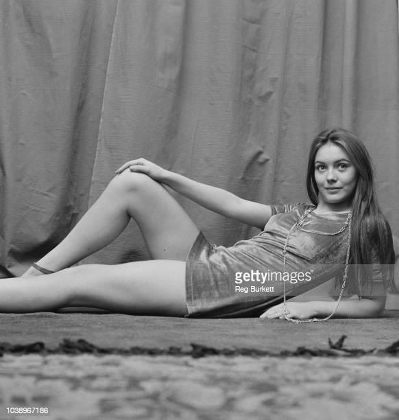 English actress, former model, and singer Lesley-Anne Down, UK, 23rd November 1970.