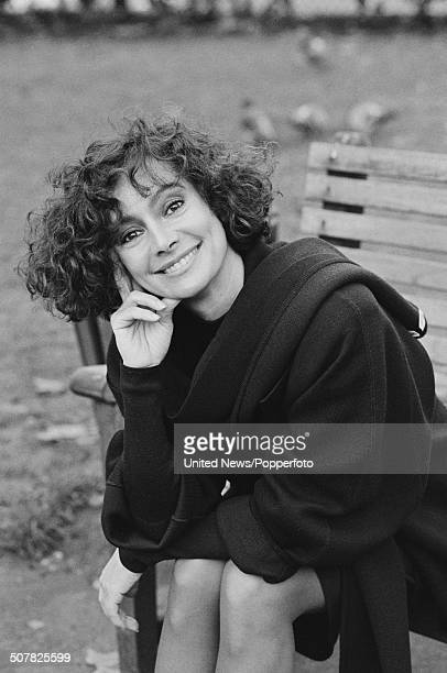 English actress Francesca Annis pictured at a press call to promote the feature film Dune in London on 13th December 1984