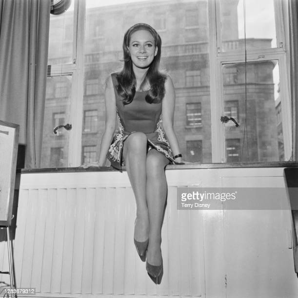 English actress Francesca Annis, UK, 15th September 1966. She is promoting her appearance on ITV children's television show 'Disney Wonderland'.