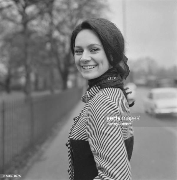English actress Francesca Annis, UK, 1966.