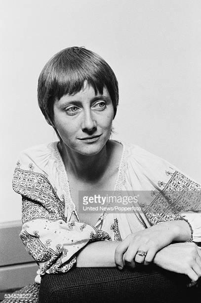 English actress Gemma Jones who plays the character of Louisa Trotter in the television series The Duchess of Duke Street pictured in London on 23rd...