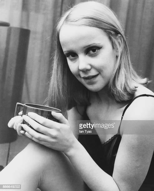 English actress Georgina Hale January 1968