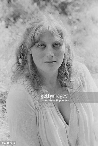 English actress Geraldine James pictured in England on 31st August 1977