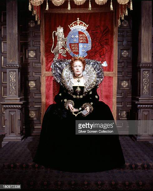 English actress Glenda Jackson as Queen Elizabeth I in 'Mary Queen Of Scots' directed by Charles Jarrott 1971