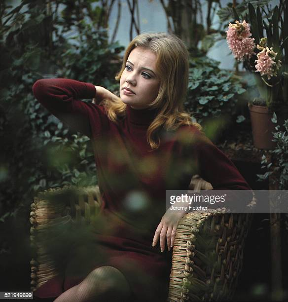 English actress Hayley Mills at the family home in Richmond London circa 1965