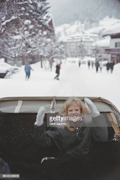 English actress Hayley Mills in Klosters Switzerland March 1963