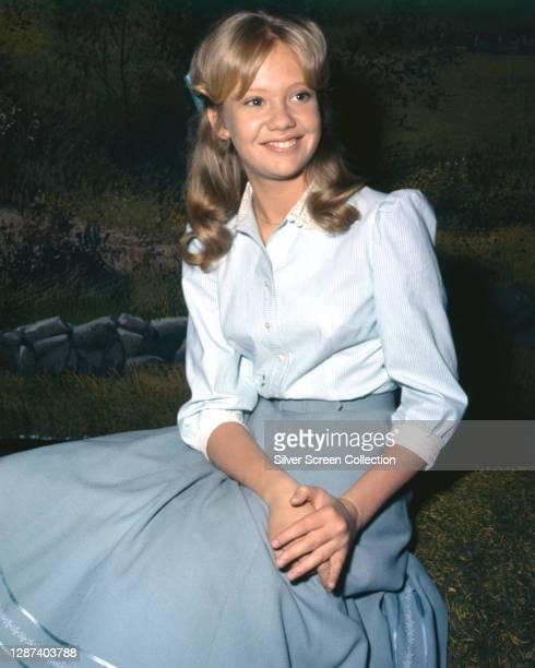 English actress Hayley Mills stars in the Walt Disney family film 'Summer Magic', 1963.