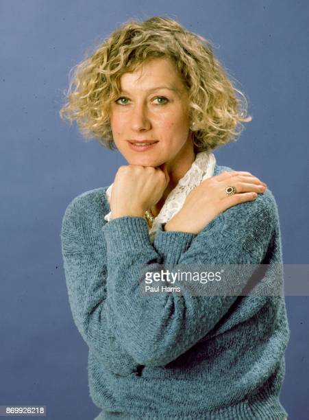 English actress Helen Mirren photographed at Four Season Hotel February 6 1985 Los Angeles California