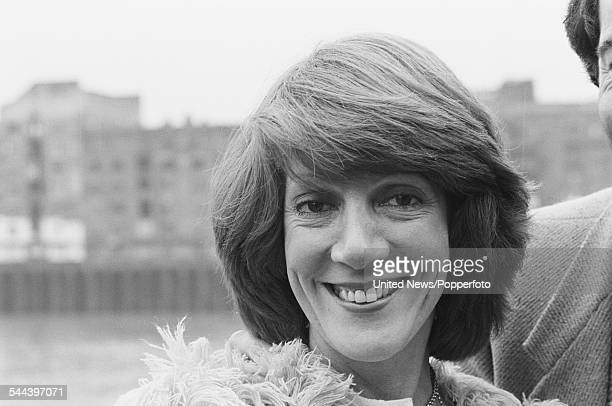 English actress Helen Weir who plays the character of Pat Sugden in the television soap opera Emmerdale Farm pictured on 11th October 1982