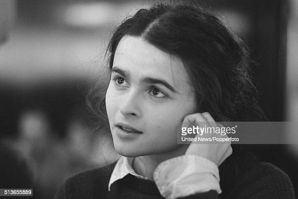 English actress Helena Bonham Carter in London on 28th May 1986