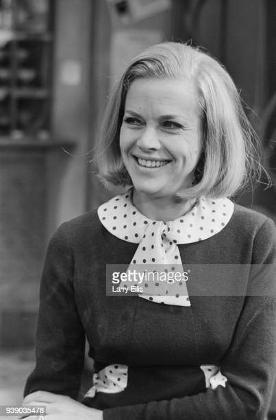 English actress Honor Blackman during rehearsals of play 'Mr Mrs' UK 10th December 1968