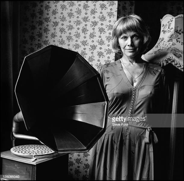 English actress Honor Blackman Edgware London 16th June 1983