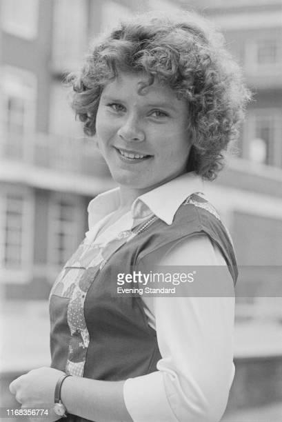 English actress Imelda Staunton UK 3rd August 1976