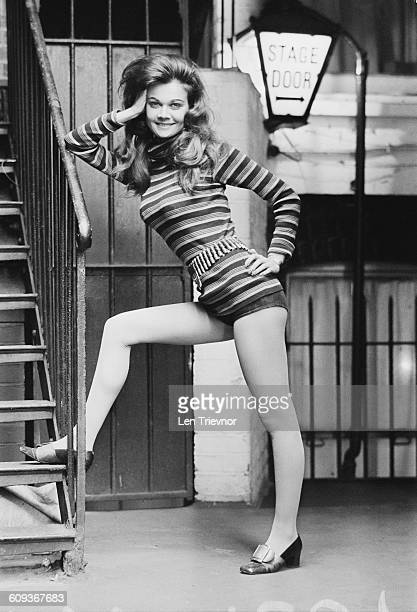 English actress Imogen Hassall at the Duke of York's Theatre in London UK 15th April 1971 She is to star in the play 'The Jockey Club Stakes'