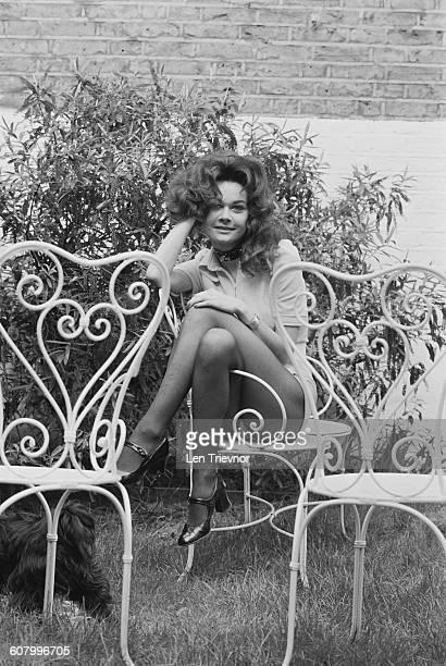 English actress Imogen Hassall UK 26th February 1971