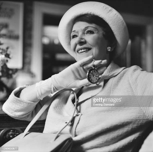 English actress Isabel Jeans , UK, 28th June 1966.