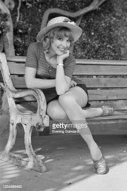 English actress Jacki Piper posed on 19th May 1971 Jacki Piper currently plays the role of Myrtle Plummer in the film 'Carry On at Your Conveniece'