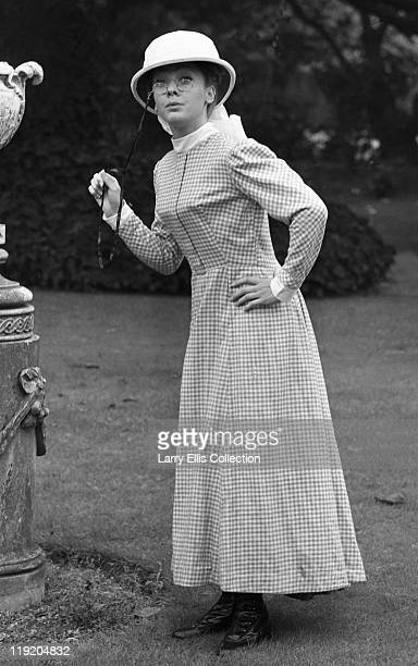 English actress Jacki Piper poses as June in a publicity still for the film 'Carry On Up The Jungle' 1970