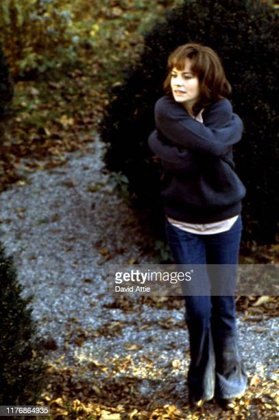 English actress Jacqueline Bisset poses for a portrait in Central Park in 1970 during the making of the Israel Horovitz movie Believe In Me in New...