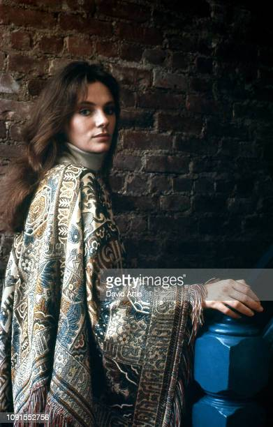English actress Jacqueline Bisset poses for a portrait in the photographer's home in 1970 in New York City, New York.