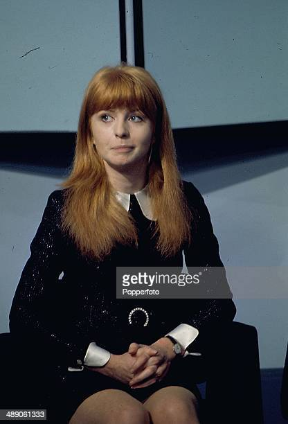 1968 English actress Jane Asher appears on the David Frost Programme television show in 1968