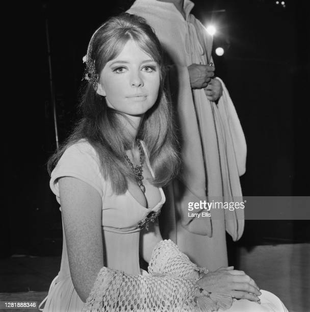 English actress Jane Asher as Perdita in the Shakespeare play 'The Winter's Tale' UK 29th September 1966