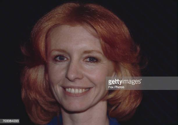 English actress Jane Asher at a press conference on nuclear disarmament UK 1985