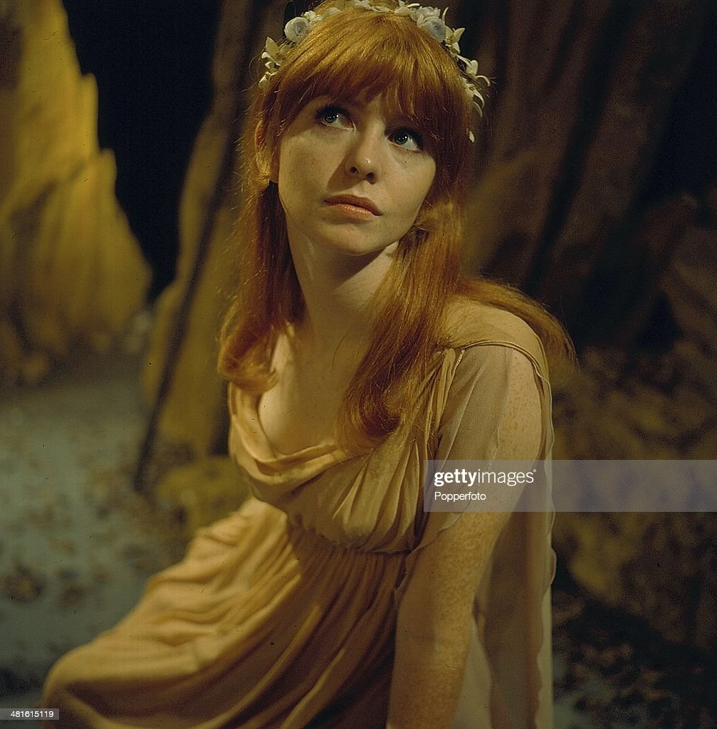 1968 - English actress Jane Asher pictured in a scene from the television drama 'Tempo - The Actor And The Role' in 1968.