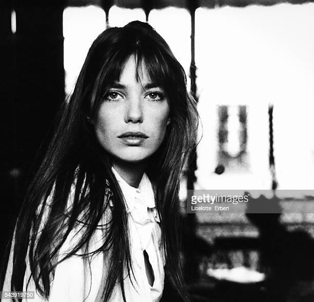 English Actress Jane Birkin