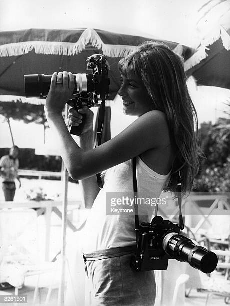 English actress Jane Birkin takes up photography at Cannes